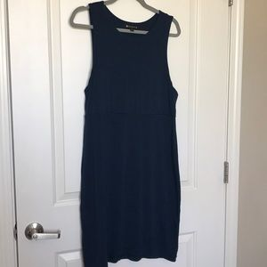 ATHLETA • Casual Soft Navy Blue Dress Sz L